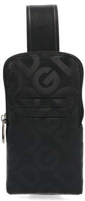 Dolce & Gabbana Monogram Print Crossbody Bag