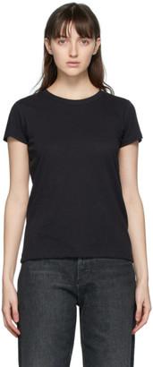 Rag & Bone Black The Slub T-Shirt