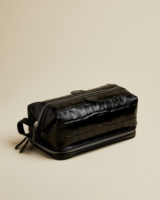 Ted Baker SWAMPS Exotic leather washbag