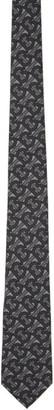 Burberry Grey Monogram Manston Tie