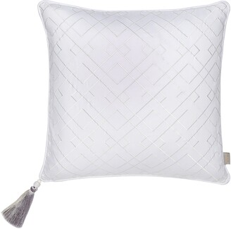 Ted Baker Trellis Embroidered Accent Pillow