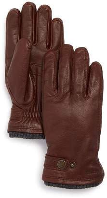 Hestra Utsjo Top-Snap Leather Gloves