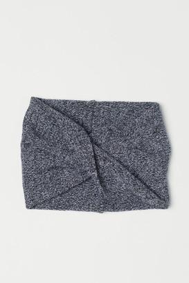 H&M Knit Tube Scarf - Black