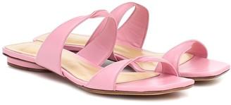 Alexandre Birman Miki Flat leather sandals
