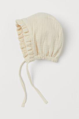 H&M Cotton Hat - Beige
