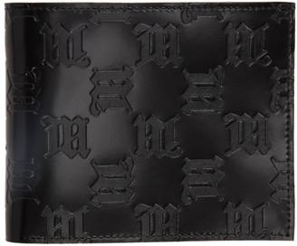 Misbhv Black Embossed Monogram Bifold Wallet
