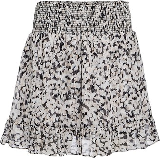 Intermix Rena Silk Chiffon Mini Skirt