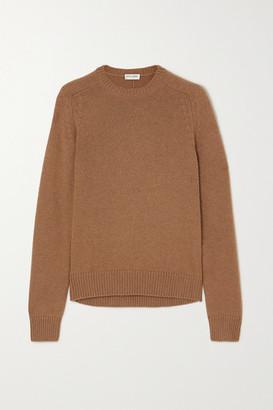 Saint Laurent Camel Wool Sweater - Brown