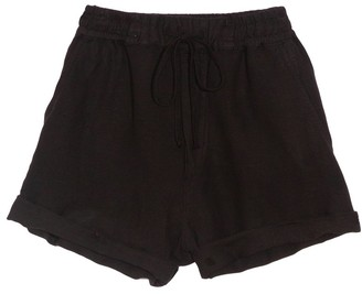 NSF Niki Elastic Waist Short in Black