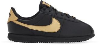 Nike CORTEZ BASIC FAUX LEATHER STRAP SNEAKERS