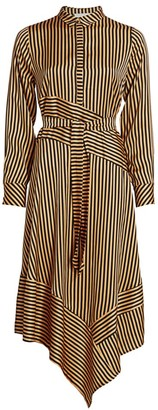 MUNTHE Manetta Striped Shirtdress