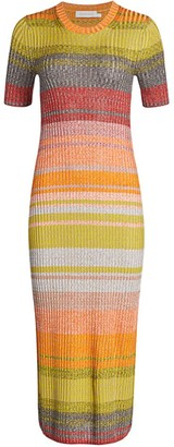 Zimmermann Brightside T-Shirt Knit Dress