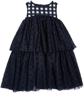 Oscar de la Renta Gingham Dress