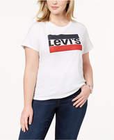 levis-plus-size-cotton-logo-t-shirt
