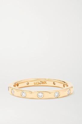 Melissa Joy Manning 14-karat Gold Diamond Ring