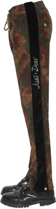 Just Don TEARAWAY CAMO COTTON CORDUROY PANTS