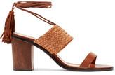 schutz-luky-tasseled-woven-leather-sandals