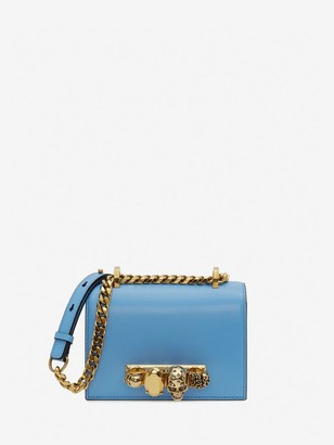 Alexander McQueen Mini Jewelled Satchel