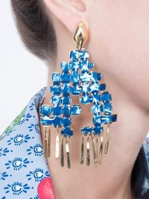 Aurelie Bidermann LHD lhd x clip earrings