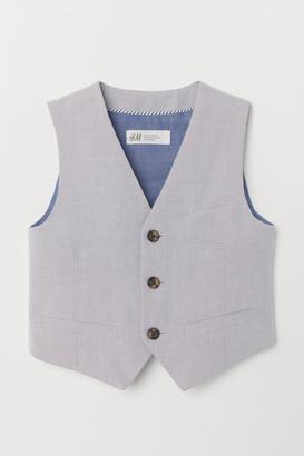H&M Suit Vest - Gray