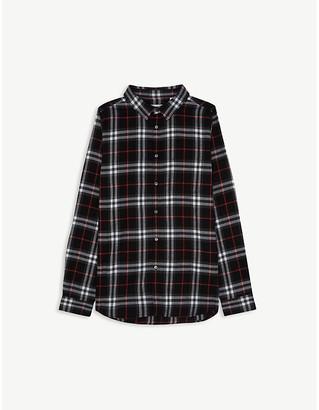 Burberry Fredrick check shirt 4-14 years