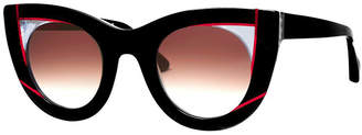 Thierry Lasry red and black wavvvy sunglasses