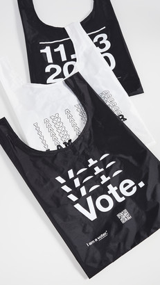 Baggu x I Am A Voter Triple Set