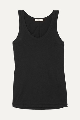 Rag & Bone Slub Cotton-jersey Tank - Black