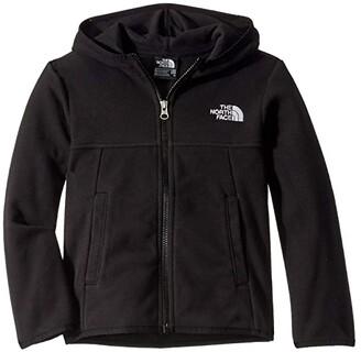 The North Face Kids Glacier Full Zip Hoodie (Little Kids/Big Kids) (TNF Black) Boy's Sweatshirt