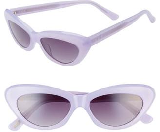 Cat Eye Diff Cleo 48mm Sunglasses