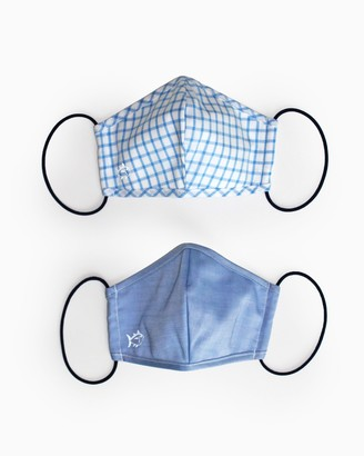Southern Tide 2-Pack Youth Blue Face Mask Cover