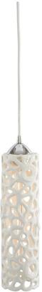 Artistic Home & Lighting 1-Light Cholla Ceramic Pendant