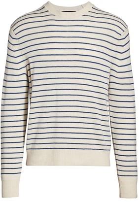 Rag & Bone Harlow Striped Crewneck Sweater