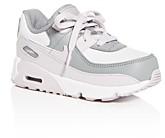 Nike Unisex Air Max 90 Leather Low-Top Sneakers - Walker, Toddler