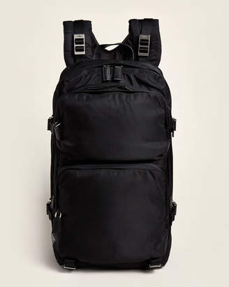 Prada Black Tech Fabric Backpack
