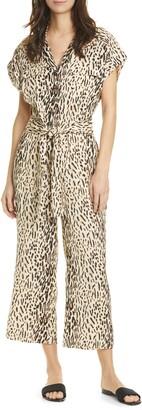 Joie Jailee Button Front Jumpsuit