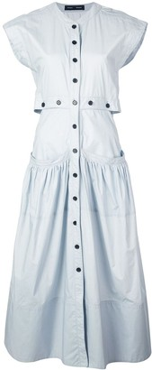 Proenza Schouler Short Sleeve Shirt Dress