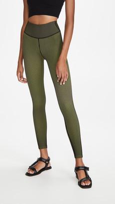 Good American Active Fashion Rib Leggings