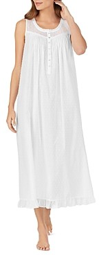 Eileen West Swiss Dot Sleeveless Gown