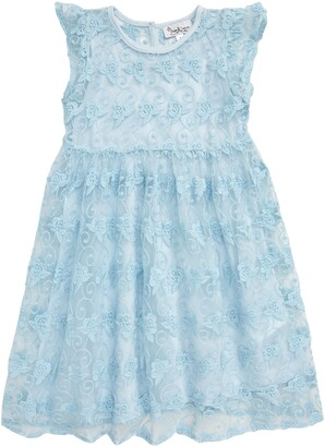 Pippa & Julie Embroidered Fit & Flare Dress