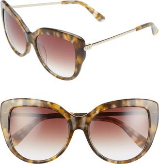 Cat Eye Diff Avery 58mm Sunglasses