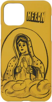 Heron Preston Yellow Holy Spirit iPhone 11 Case