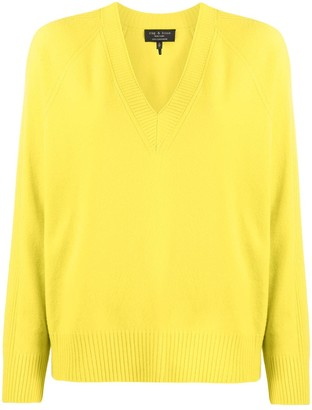 Rag & Bone cashmere V-neck jumper