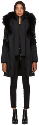 Mackage SSENSE Exclusive Black Kay-P Touch Down Coat