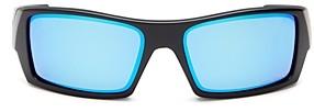 Oakley Men's Gascan Polarized Wraparound Sunglasses, 60mm