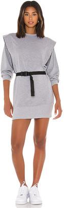 Lovers + Friends Eli Shoulder Pad Mini Dress