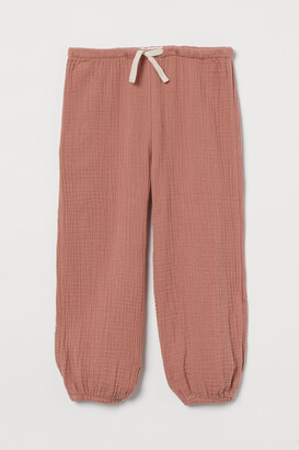 H&M Double-weave Pants - Orange