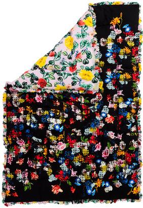 Preen by Thornton Bregazzi Quilted Silk-Satin Eiderdown Comforter