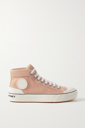 Stella McCartney Canvas High-top Sneakers - Blush