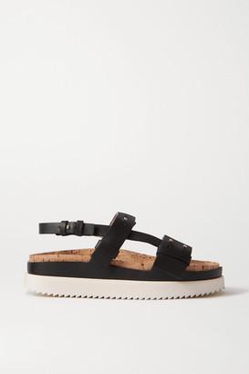 Gabriela Hearst Leather Sandals - Black